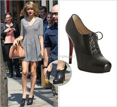 Christian Louboutin 'Mamanouk Lace Up Booties' - no longer available
