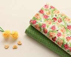 cotton 1yard 44 x 36 inches 66927 by cottonholic on Etsy