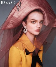 When Princesses of Fashion Turn into Beautiful Pirates for the December Issue of the Harper's Bazaar US.