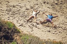 Ditch the snow. It's all about sand angels. http://www.gsom.com/campaign