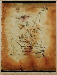 Image: Paul Klee - Das Pathos der Fruchtbarkeit,