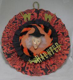 Halloween Rosette vintage style decoration by DorothysDolls