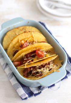 Mexicaanse taco's uit de oven --> gemaakt en goedgekeurd !