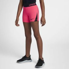 Nike Pro Big Kids' (Girls') 4  Training Shorts Nike Kids Clothes, Tennis Clothes, Cheer Shorts, Nike Pro Shorts, Kids Wardrobe, Bandeau Bikini, Nike Pros, Big Kids, Kids Girls