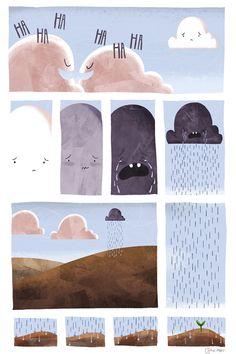 - 'Sad Cloud' by Charlotte Mao