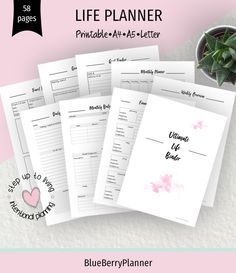 Life Planner printable, Ultimate Life Binder, Life binder, Lifestyle Planner, Life Planner, Planner Kit, Printable Planner, Planner Inserts. Travel Planner, Monthly Planner, Printable Planner, Printables, Planner Inserts, Planner Pages, Life Planner, Life Binder, Project Planner