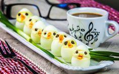 Aperitiv cu oua de prepelita