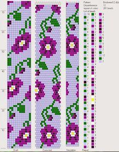 Crochet bead ropes schemes – Hapishane işi boncuk diziliş şemaları | Nazo Tasarım & Emek Pınarı