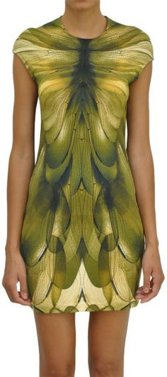 Mcq By Alexander Mcqueen Multicolor Stretch Jersey Dress