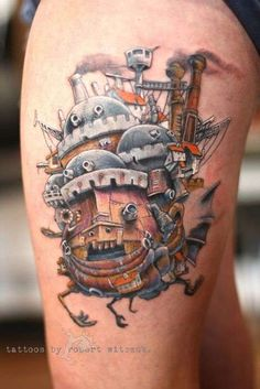 Which of these Studio Ghibli tattoos would you get?! I think #7 is breathtaking!