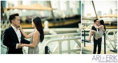 •battery park engagement session nyc || ari + erik wedding photographers•