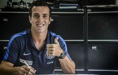 """Serginho renova com o Santos até fim de 2018: """"Amadureci bastante"""""""