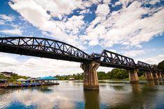 Bridge Over The River Kwai (the real one!) at Kanchanaburi, Thailand