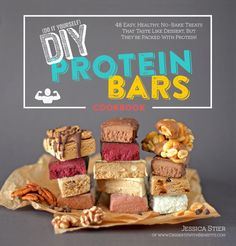 The DIY Protein Bars Cookbook | 48 Gluten Free Vegan Protein-Packed Recipes