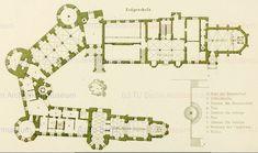 Afbeeldingsresultaten voor Hohenzollern Castle Floor Plan