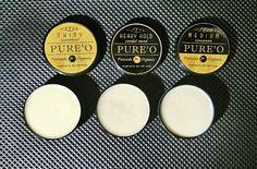 PURE'O ORGANIC POMADE (Premium Quality)  Minyak rambut yang 100% terbuat dari bahan organik minyak tanaman Indonesia (NON KIMIA). Pure'o Pomade membuat penampilanmu lebih stylish dan rambutmu jadi sehat.  Tidak lengket di tangan dan mudah untuk dibersihkan (cukup sekali keramas), tidak menimbulkan noda dibantal.  Terdapat 3 varian yg disesuaikan untuk kebutuhan Anda. Heavy hold, Shinny dan Medium. Dapat digunakan setiap hari karena aman bagi rambut.