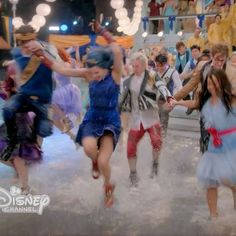 """Although """"You & Me"""" is the final dance number in #Descendants2, it was one of the very first scenes filmed. #D2Deets"""