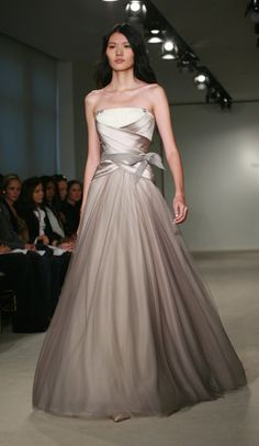 Vera Wang Fall 2009...love the ivory as well.