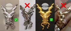 Original Saariyas Markhor Lapel Pin Extreme 3D made in Metal Whatsapp 03338345558 Get only from Saariya's before you Regret ! Beware of Imposters and Fakers Markhor Matt Golden 1900 Markhor Silver Siachin Frosted 1950 Guarding the Frontiers ! Markhor is the national animal of Pakistan. 'Unverified legends' from centuries reveal that Markhor defends from bad,evil omen.It was Famous to Hunt down Snakes and Kill them by biting the head off , and this is how it got its name : Mar - Snake , Kh National Animal, Pin Badges, Snakes, Lapel Pins, Pakistan, Legends, 3d, The Originals, Metal