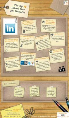 Et si vous passiez un tout petit peu de temps aujourd'hui à optimiser votre profil Linkedin ? #linkedin #profil