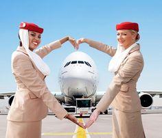 Emirates cabin crew: Valentine'S Day, Valentine Day, Happy Valentine, Airlines Emirates,