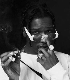 Find images and videos about fashion, cyber ghetto and asap rocky on We Heart It - the app to get lost in what you love. Black And White Picture Wall, Black And White Pictures, Ear Piercing Places, Asap Rocky Wallpaper, Lord Pretty Flacko, Mode Hip Hop, A$ap Rocky, Tyler The Creator, American Rappers