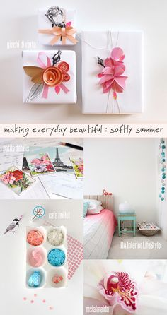 My weekly favourites from our fabulous Flickr group 'making everyday beautiful': 1. My gifts by giochi di carta, 2. Vintage French Cards by petits détails, 3. DIY ombre lamp by IDA Interior LifeStyle, 4. Pretty things by cafe noHut, 5. ♥ Spring's coming by msialmeida