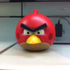 Angry speakers. #angrybirds