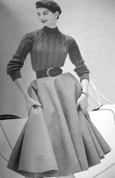 "Can I just ask, ""What ever happened to turtlenecks?"" or any higher neckline for that matter."