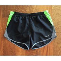 NIKE DRI-FIT 10K SHORTS Small(fits size 4-6) A performance short built for comfort over any distance.  Stretch waist with interior taping for a comfortable fit.  100% polyester.  Like new. Nike Shorts