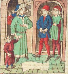 Antonius <von Pforr> Buch der Beispiele — Schwaben, um 1480/1490 Cod. Pal. germ. 85 Folio 64v