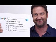SCOTTISH ACCENT. (Many listeners will perceive this as a 'very light' accent.) Gerard Butler is from Scotland.