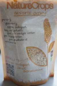 Producttip: gepofte quinoa