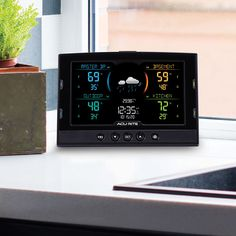 Want to be able to easily compare conditions in three different places in and around your house? AcuRite's Indoor & Outdoor Multi-Sensor Station with 3 Sensors allows you to monitor the things you care about most.