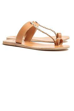 Ancient Greek Sandals Melpomenia Plait Thongs, $195