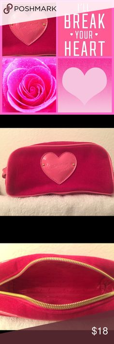 Victoria's Secret Makeup Bag 💗 Cute/Girly Makeup Bag by Victoria's Secret 💗 Rarely Used and In Good Condition with the Exception of Tiny Imperfections (See Pic #4). Victoria's Secret Bags Cosmetic Bags & Cases