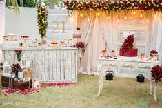 Check out this gorgeous 21st Birthday party! Everything about it is beautiful!See more party ideas and share yours at CatchMyParty.com