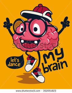 cool monster brain character design   brain, laptop, thinker, isolated, human, graduation, geek, glasses, nobody, fun, medical, vector, sign, symbol, head, intelligence, dancer, character, drawing, dance, idea, medicine, mind, cute, though, illustration, funny, sneakers, pink, cerebellum, physics, smart, think, anatomy, genius, part, clever, brainstorm, background, organ, silhouette, mascot, cartoon