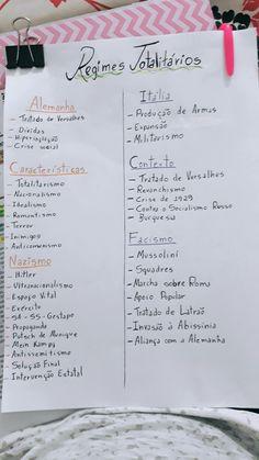 Mapa mental Regimes Totalitários: Nazismo e Facismo. Mental Map, Study Hard, Study Inspiration, Studyblr, Student Life, Study Tips, Professor, Back To School, Knowledge