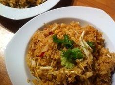 Recipe for Baked rice with vegetabled - Gebakken rijst met groente recept van Foodblog Foodinista