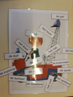 Woorden pluk Schmidt, Arts And Crafts, Letters, Sport, Kids, Authors, Wasp Nest, Deporte, Children