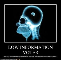 New term for this election: Low Information Voter    http://www.foreignpolicy.com/articles/2012/08/07/dumb_and_dumber