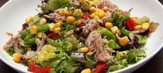 Η δίαιτα των μονάδων: Τονοσαλάτα με καλαμπόκι(3 μονάδες)