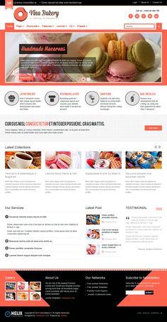 Plantillas para paginas web responsive del CMS Joomla, estan preinstaladas y son gratuitas y libres