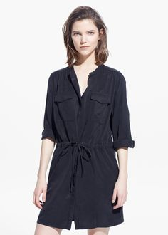 Soft shirt dress