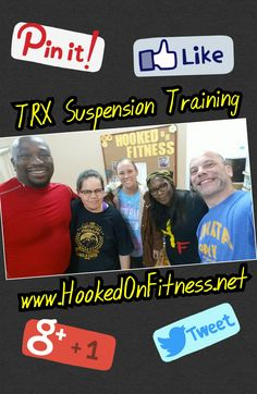 Monday's mean #TRX! Come on up and see what the buzz is all about each and every Monday night at the #HookedOnFitness Studio at 7pm...  #GroupFitness  #PhillyPersonalTrainer  #FitFam  #BestInPhilly  www.HookedOnFitness.net