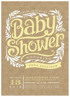 i know this says baby shower, but it would also be adorable for a wedding shower as well!