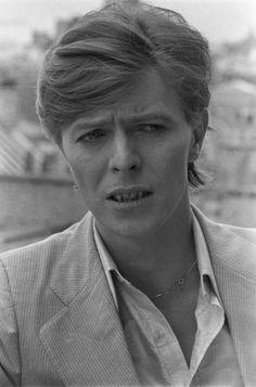 David Bowie in Paris, 1977
