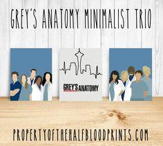 GREY'S ANATOMY Minimalist Trio