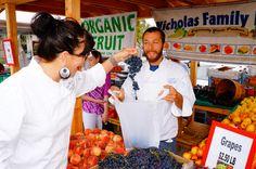 Sourcing Saturday at the SoCo Farmer's Market.  Fresh produce & fun people!